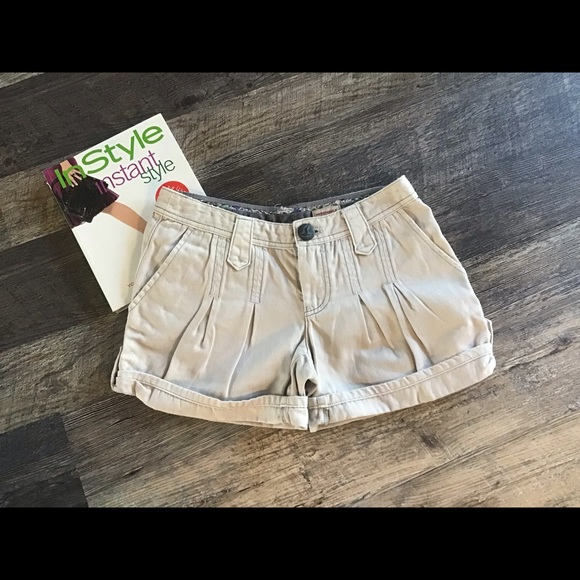 Free People Pants - Free people denim jeans shorts cotton women size 2